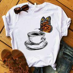 Biggest Women S Fashion Brands Key: 2054563771 90s Shirts, Funny Shirts, Cool T Shirts, Shirt Print Design, T Shirt Designs, T Shirt Painting, Painted Clothes, Printed Shirts, Shirt Style