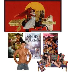 Question of the Day--Is this your fantasy?or your favorite sort of book., created by huggybear20 on Polyvore