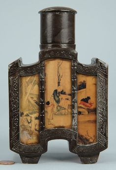 Chinese tea caddy,19th Cent.