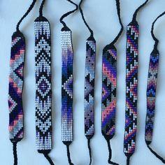 SALE Seed Bead Friendship Bracelets by MichikoJewelry on Etsy
