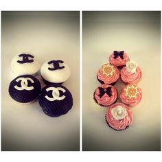 Coco Chanel Cup Cakes