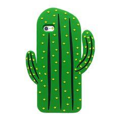 2016 de La Manera 3D de dibujos animados fruta fresca de verano arco iris nubes cactus hoja verde de silicona suave piel cubierta de la caja del teléfono celular Para Iphone