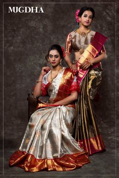 Mind-blowing Kanchipuram Pattu Silk Sarees That You Don't Want to Miss Pattu Sarees Wedding, Bridal Silk Saree, Latest Pattu Sarees, Satin Saree, Bridal Lehenga, Silk Satin, Pattu Saree Blouse Designs, Half Saree Designs, Dress Designs