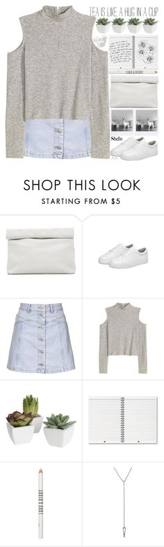"""""""me? suffering? all the time"""" by alienbabs ❤ liked on Polyvore featuring Marie Turnor, Topshop, Pier 1 Imports, Lord & Berry, clean, organized and shein"""