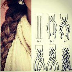 Trenza #peinado