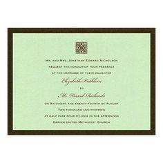 Chelsea Wedding Invitations by MyGatsby.com