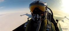 That selfie of a Danish F-16 pilot firing a Sidewinder missile is actually a frame from a cool video. I'd rather have a perfect animated selfie in an infinite GIF loop, though, so I made this one. Here's another shot as seen from the side.