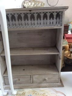 Lovely little shelf @ Hey JUDES for your bathroom or spot! See decor too! HEY JUDES Hillcrest is opposite the new Hillcrest Hospital @ 1 Fraser Road, Assagay, just off SHONGWENI/Assagay off ramp. Hey JUDES is in the main house every day same hours as the Farm Barn, it is in