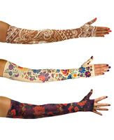 3 pack of LympheDivas compression arm sleeves and gauntlets!