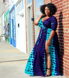 2019 Native Outfits For Plus-Size Women's at Diyanu Look Plus Size, Curvy Plus Size, Plus Size Women, Vestidos Plus Size, Plus Size Dresses, Plus Size Outfits, African Dresses Plus Size, African Print Fashion, Fashion Prints