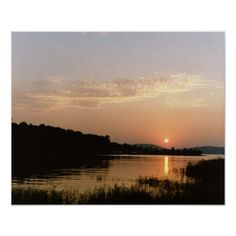 Ozark at Rest - Sunset over the Lake of the Ozarks, Missouri (pinned by haw-creek.com)