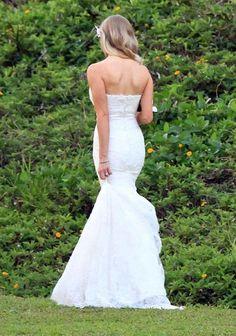 brandon jenner wedding   Brandon Jenner and Leah Felder wedding in Hawaii - May 31, 2012
