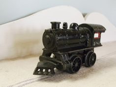 Antique Cast Iron Toy Steam Engine Bing by robinseggbleunest, $38.00