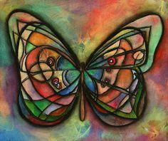 Matrioska de mariposas - Autor: Marcela Donlon.