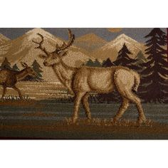 Animal Rug, Brown Beige, Beige Area Rugs, Moose Art, House, Animals, Animales, Home, Animaux