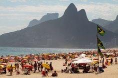 Praia de Ipanema - RJ (Posto 9)    Ipanema Beach - Rio de Janeiro