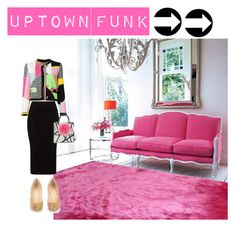 """Uptown Funk"" by jackiegib ❤ liked on Polyvore featuring Moschino, Christian Louboutin, Mat, Les Petits Joueurs, women's clothing, women, female, woman, misses and juniors"