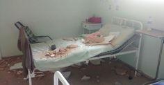 Teto desaba em cima de paciente de 72 anos em hospital público do TO