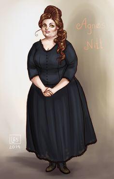 Discworld Witches_Agnes by BlackBirdInk.deviantart.com on @DeviantArt
