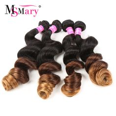 7A Ombre Brazilian Virgin Hair Loose Wave 4 Bundles Soft Weave Ombre Hair Extensions T1B/4/30 Ombre Brazilian Hair Weave Bundles-in Human Hair Extensions from Beauty & Health on Aliexpress.com   Alibaba Group