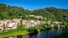 Camping L' Ardechois Camping, Restaurant, Mansions, House Styles, Water, Outdoor, Lush, Campsite, Gripe Water