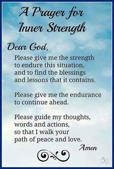 Prayer for inner strength bible prayers, strength prayer quotes, prayers for strength and healing Prayer Scriptures, Bible Prayers, Faith Prayer, Prayer Prayer, Prayer Ideas, Prayer For Peace, Prayer Room, Prayer Of Hope, Scriptures On Fear