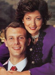 Princess Alexandra and Prince Joachim of Denmark.