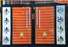 House Main Gates Design, Door Gate Design, Wood Table Legs, Grill Door Design, Iron Doors, Models, Decoration, Home Decor, Templates