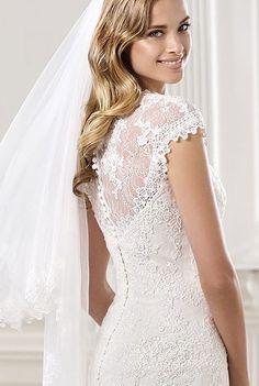 $1,900 VIC Hoppers Crossing Pronovias Omaya Size 12 New Wedding Dress | Still White Australia