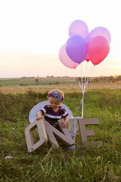 First birthday ~ Clicks By Charity Photography