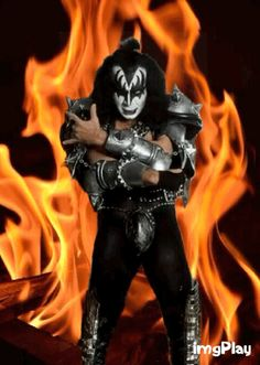 Gene Simmons Kiss Art, Gene Simmons, Dressed To Kill, Band, Fictional Characters, Sash, Bands, Fantasy Characters, Orchestra