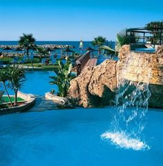 Lordos Beach Hotel, Larnaca, Cyprus - luxury hotels from Great Hotels eur 129 - Travel Image Beautiful Places In The World, Beautiful Hotels, Beautiful Beaches, Wonderful Places, Beach Hotels, Luxury Hotels, Cyprus Hotels, Cyprus Holiday, Visit Cyprus