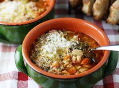 Ribollita (Tuscan bean and vegetable stew), as featured in Week 42 of Everyday Mediterranean. Subscribe here: http://nutrelan.com/everyday-mediterranean-meal-plan-how-it-works/.