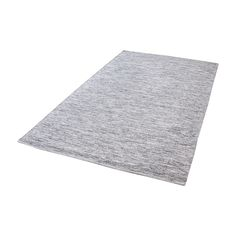 Alena Handmade Cotton Rug In Black And White - 3ft x 5ft