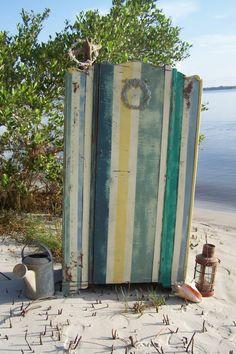 Beach Cabana Chifferobe by junkdrawerdivas on Etsy, $325.00