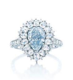 Tiffany & Co. 2014 Blue Book Blue Diamond Ring