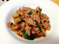 Dukan Diet Recipe Mongolian Beef