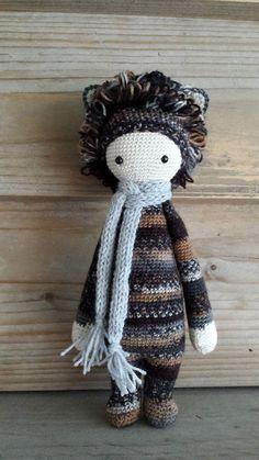 LONI the lion made by Els van Sch. / crochet pattern by lalylala
