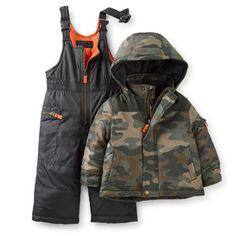 2-Piece Camo Snowsuit