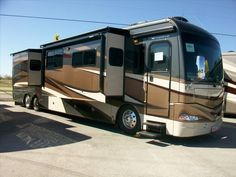 One of the most popular floor plans for American Coach is now in the Providence. This coach is also equipped with Aqua-hot.  http://www.buyandsellrvs.com/rv/for-sale/1115905