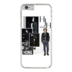 Hong Jong Hyun Kpop Phone Case for iPhone, iPod, Samsung, Sony, LG and HTC