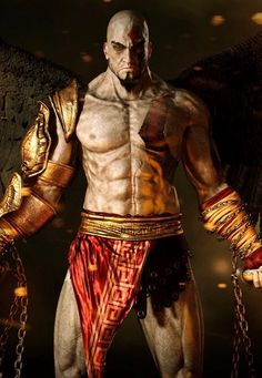 Kratos Workout Routine: Train like Kratos from God of War with this Kratos Inspired Workout Routine. Kratos God Of War, African Mythology, African Goddess, God Of War Game, Superhero Academy, Video Game Characters, Cool Backgrounds, Cultura Pop, Video Games
