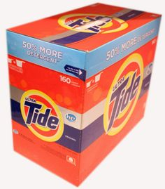 Ultra Tide Original Scent New Improved Laundry Detergent Formula 160 Loads 14 LB