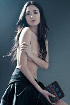 Captivating Sexy Filipina Ornusa Cadness in her arm-bra