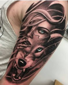 Tattoos, sleeve tattoos, tattoos for guys, tattoos for women, wolf tatt Wolf Tattoo Forearm, Tattoo Arm Frau, Wolf Tattoo Sleeve, Sleeve Tattoos For Women, Tattoo Sleeve Designs, Tattoo Designs Men, Tattoos For Guys, Mädchen Tattoo, Forarm Tattoos
