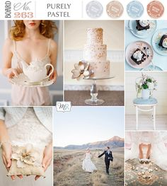 Purely Pastel Inspiration Board