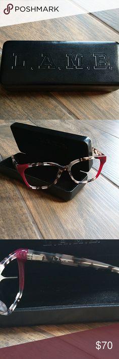 885548a52d4 L.A.M.B. Eyeglasses Euc. Lense removed. Case included. L.A.M.B. Accessories