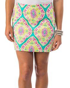 Bayberry golf skirt-Sydney Elizabeth