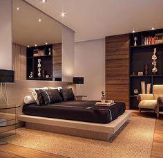 A cama japonesa alia modernidade, simplicidade, funcionalidade, e ao mesmo tempo uma certa brisa de tranquilidade e minimalismo. Com um estilo nem um pouco tradicional e sua paleta de cores frias, pode agradar tanto os casais quanto aos solteiros. ✨ #inspiração #vempraateliera4 #ateliera4