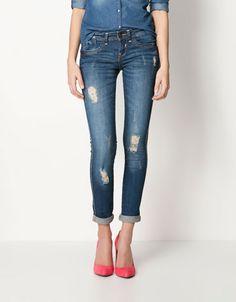 Bershka Ireland - BSK stonewashed jeans